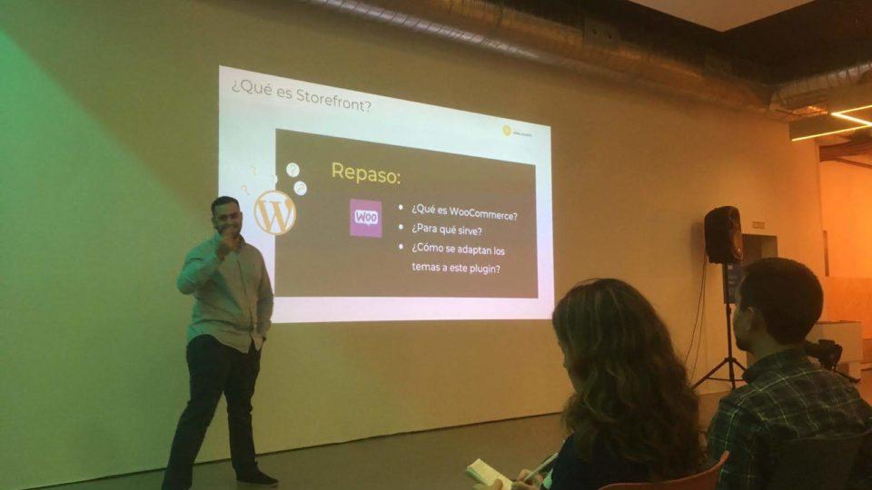 """Cómo fue la charla """"Optimiza tu web: Storefront, dominar el mejor tema para woocommerce"""""""